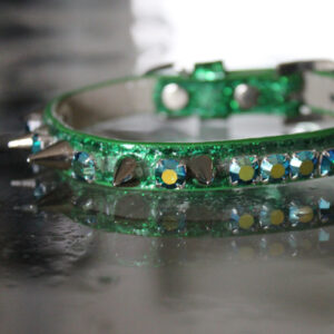 Rockstar TM - The Green Day Inspired Spiked Jewelry Collar