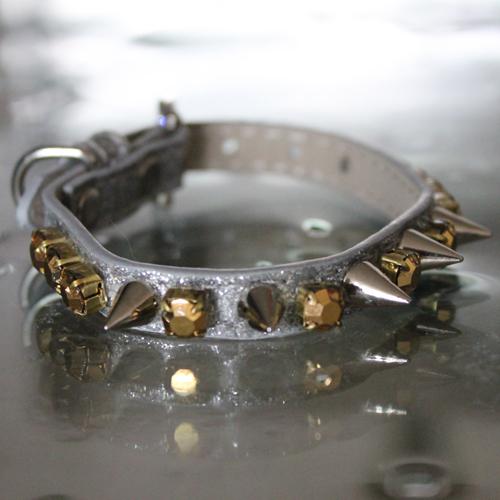 Heavy Metal Spiked Collar - Lemonhead's Inspired