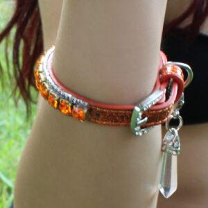 Sacral Chakra Beauty Collar Bracelet